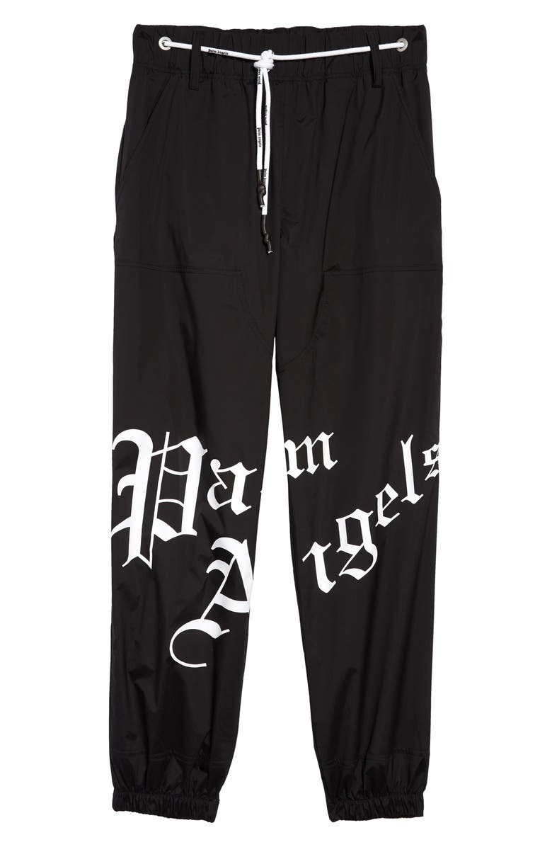 PALM ANGELS New Gothic Jogger Pants, Main, color, 001