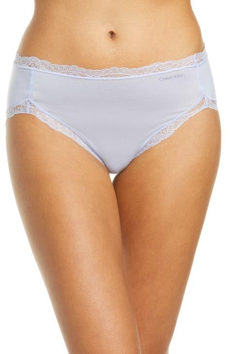 High Cutlace White Panties Heels