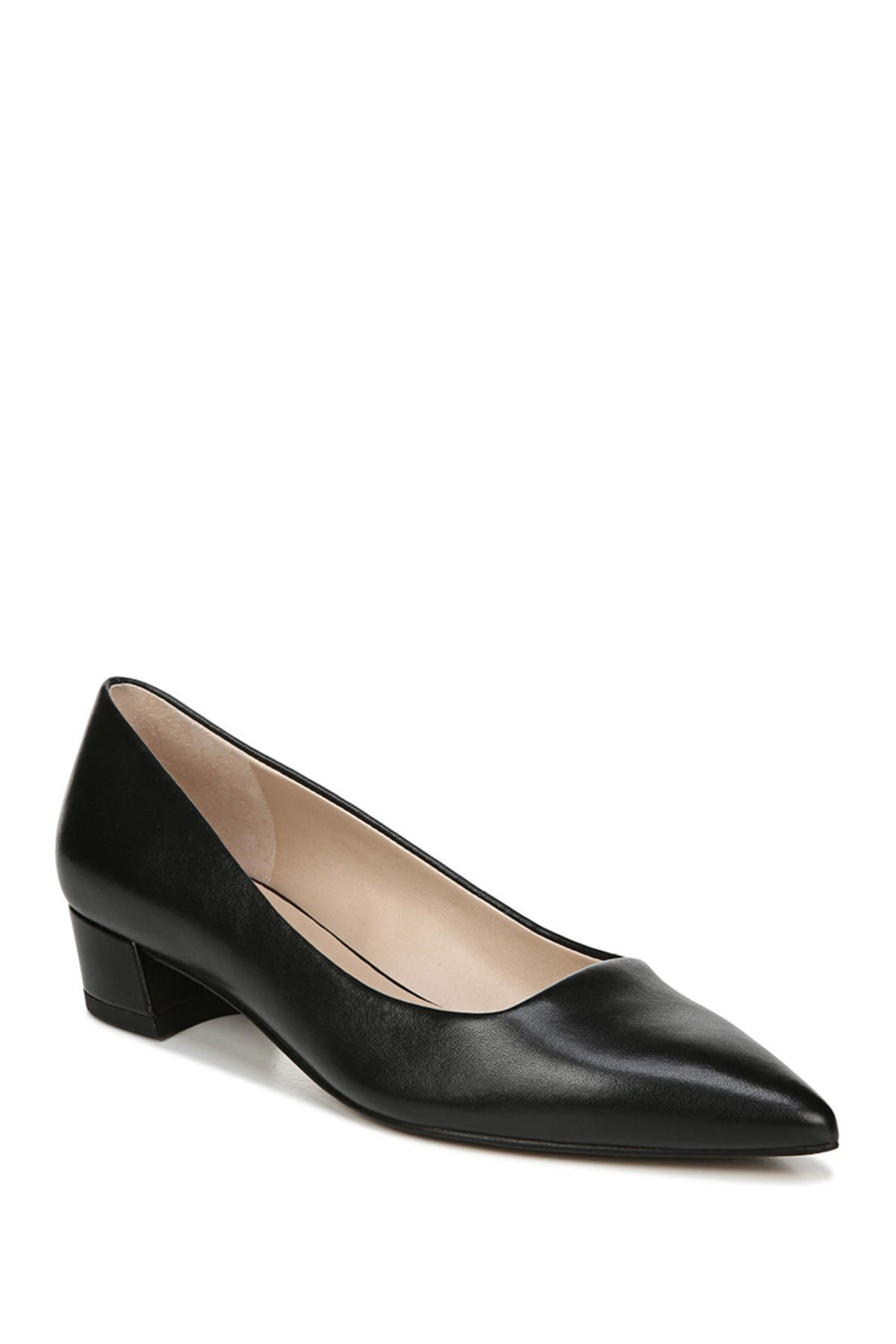 Image of Franco Sarto Leather Pointed Toe Pump
