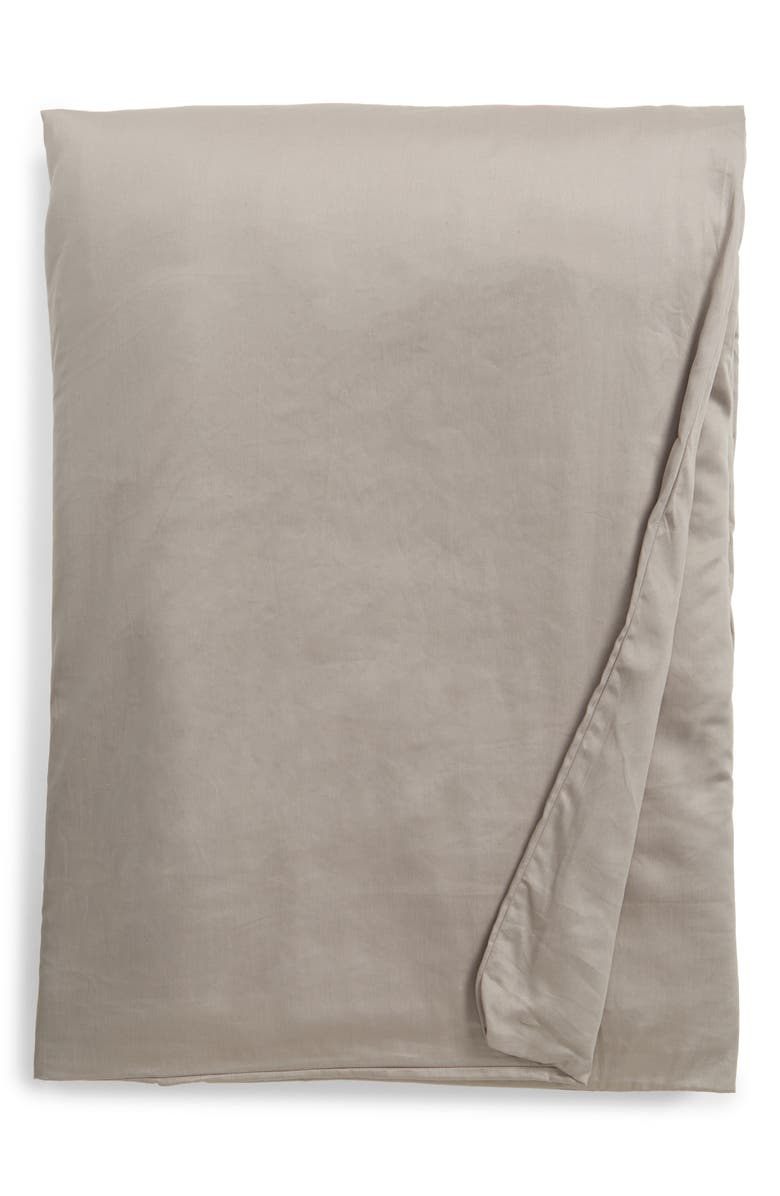 NORDSTROM at Home Weighted Blanket, Main, color, GREY MICRO