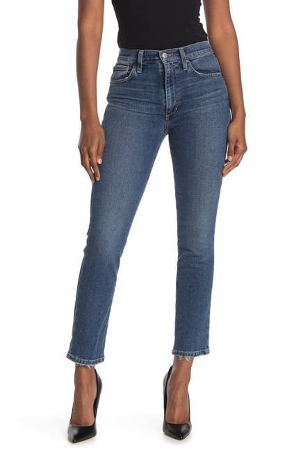 Image of Joe's Jeans High Rise Straight Ankle Jeans