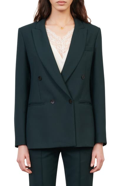 Maje DOUBLE BREASTED BLAZER
