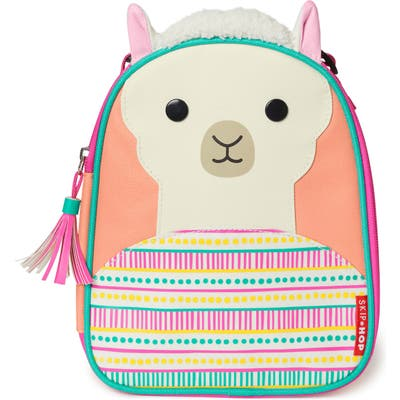 Toddler Skip Hop Insulated Llama Lunch Bag - Pink