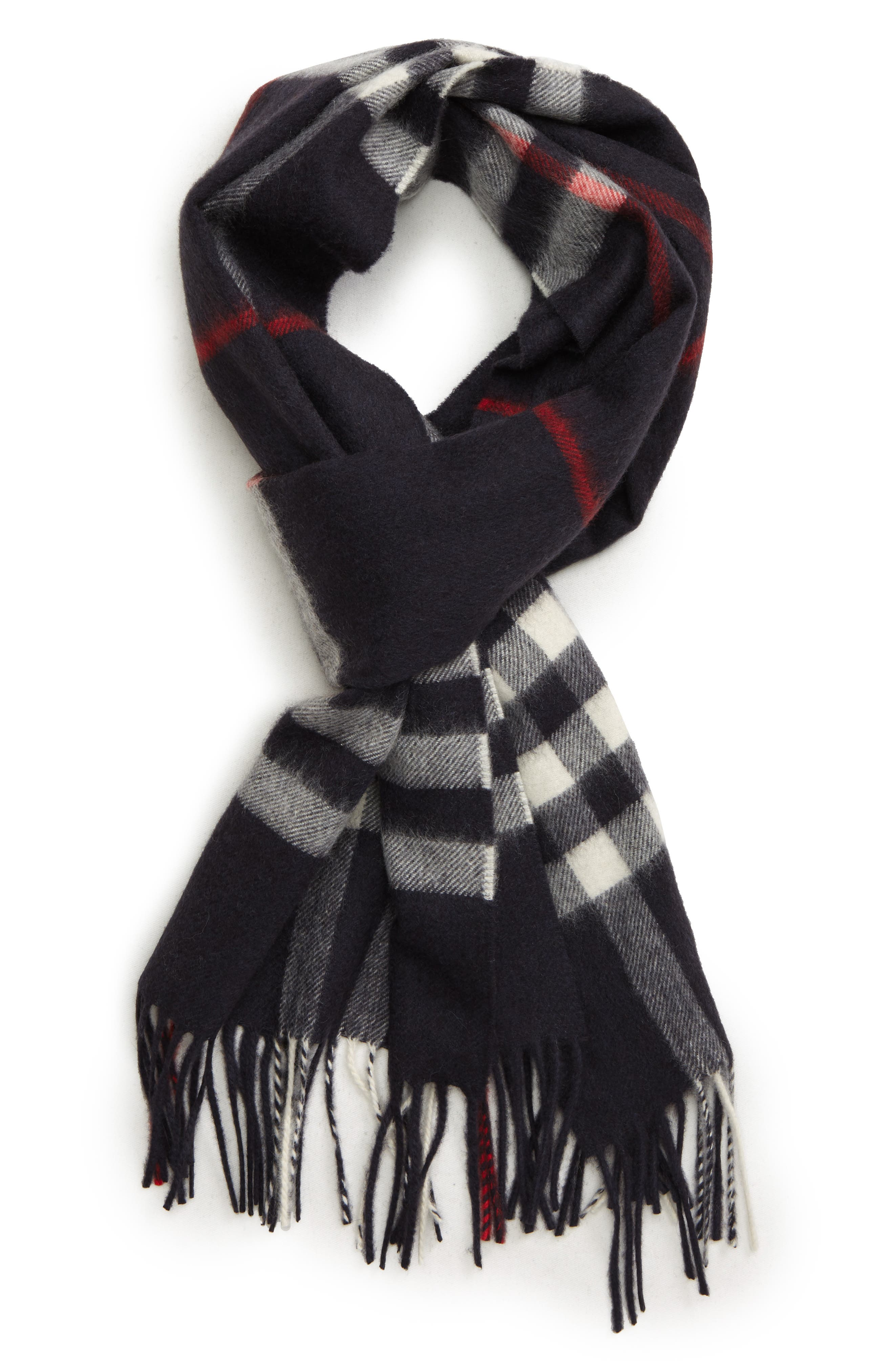 Men's Burberry Giant Check Cashmere Scarf