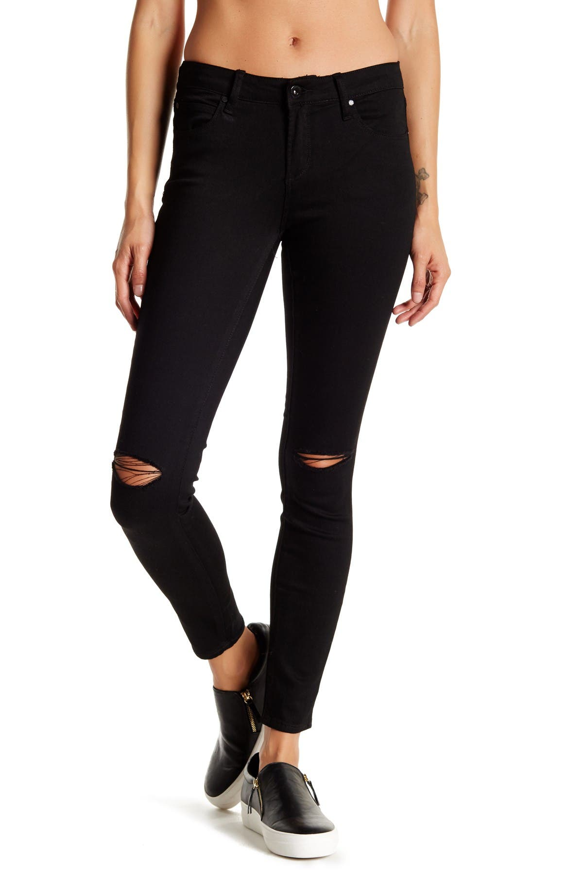 Image of Articles of Society Sarah Slit Skinny Jeans