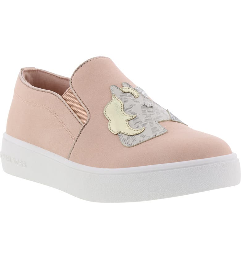 MICHAEL MICHAEL KORS Jem Magic Unicorn Slip-On Sneaker, Main, color, 654