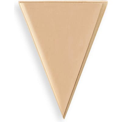 Bony Levy 14K Gold Triangle Stud Single Earring (Nordstrom Exclusive)