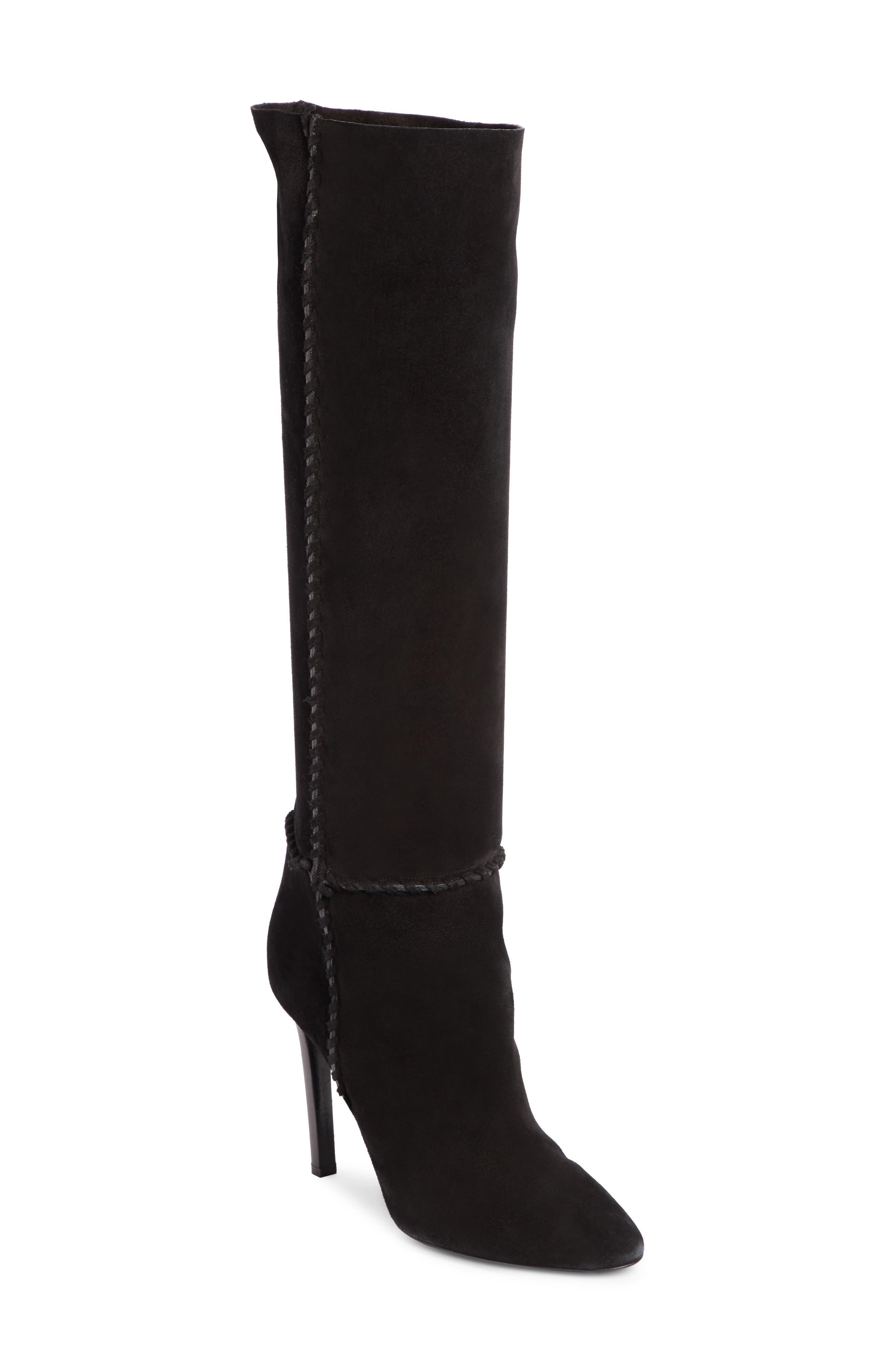 Saint Laurent Mica Knee High Boot
