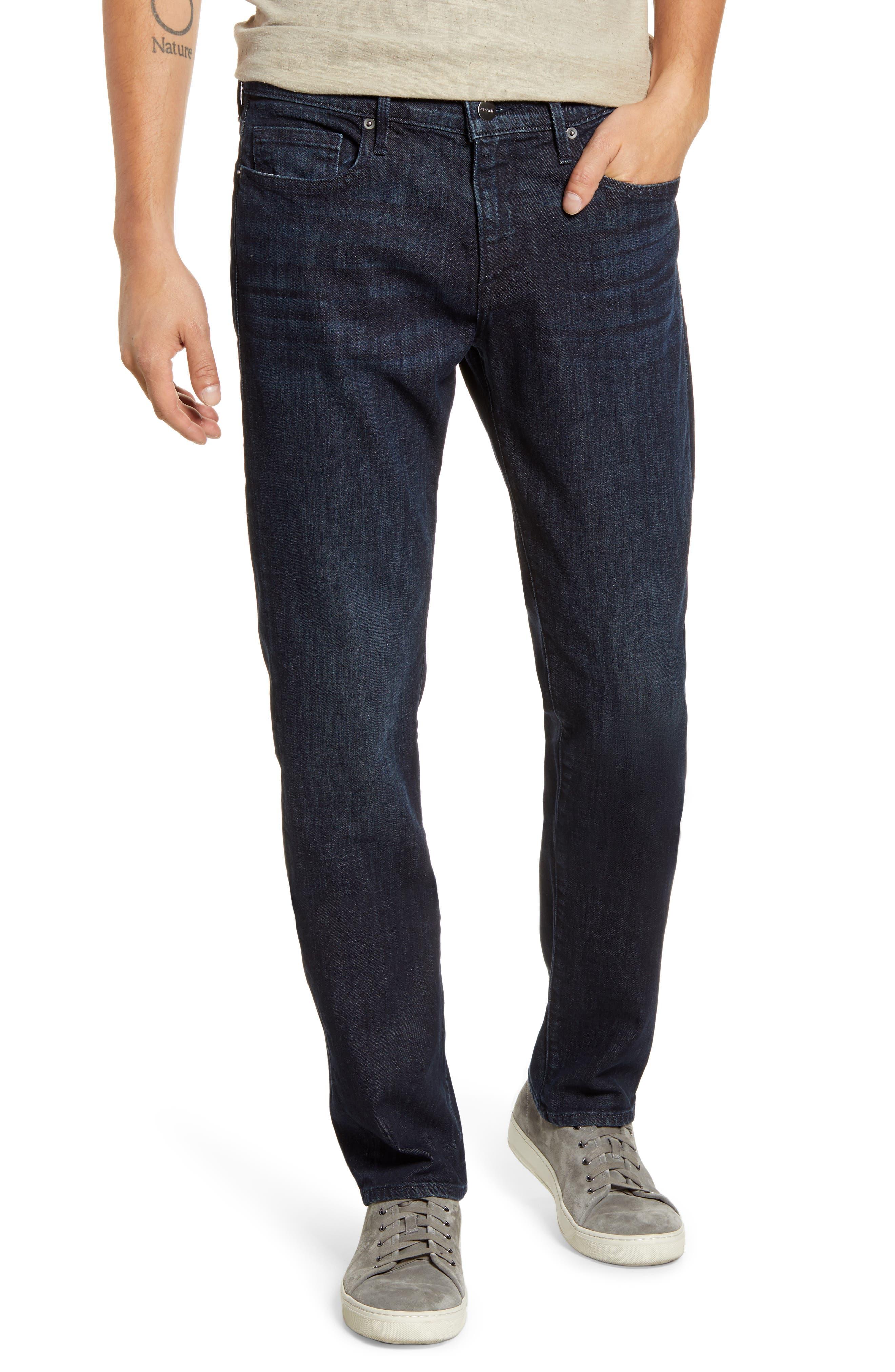 Men's Frame L'Homme Slim Fit Jeans,  28 - Blue