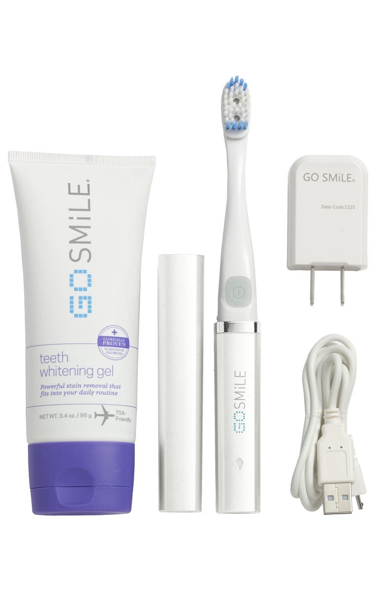 GO SMILE<SUP>®</SUP> Dental Pro On-the-Go - Sonic Blue Teeth Whitening System, Main, color, 100