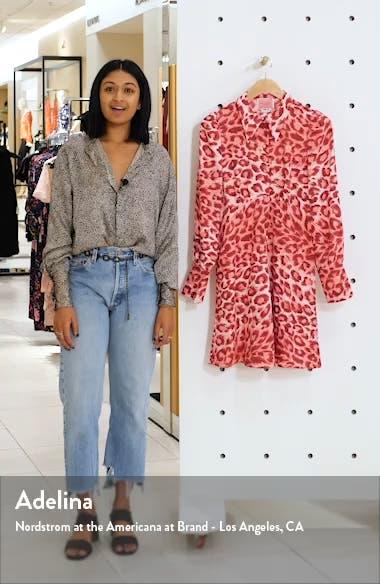 panthera long sleeve shirtdress, sales video thumbnail