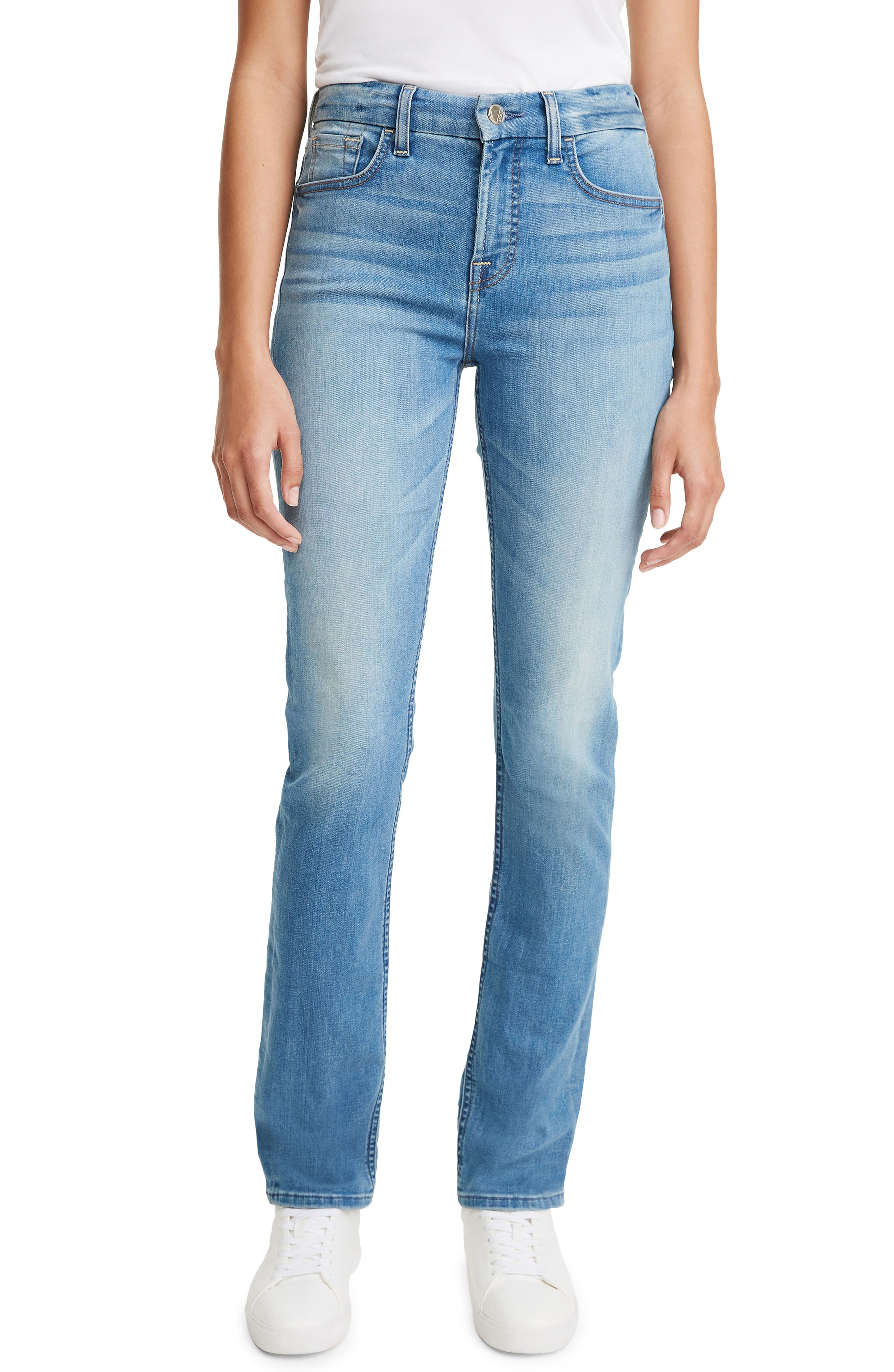 By 7 For All Mankind Slim Straight Leg Jeans