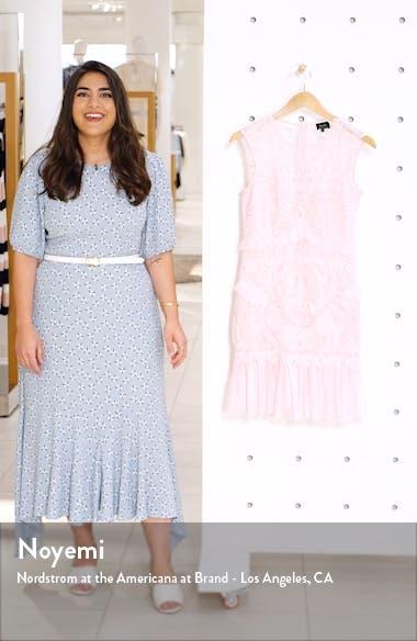 Francesca Lace Sheath Dress, sales video thumbnail
