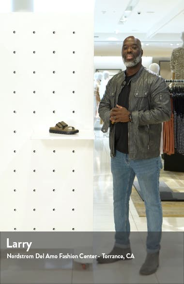 Roaming Buckle Slide Sandal, sales video thumbnail