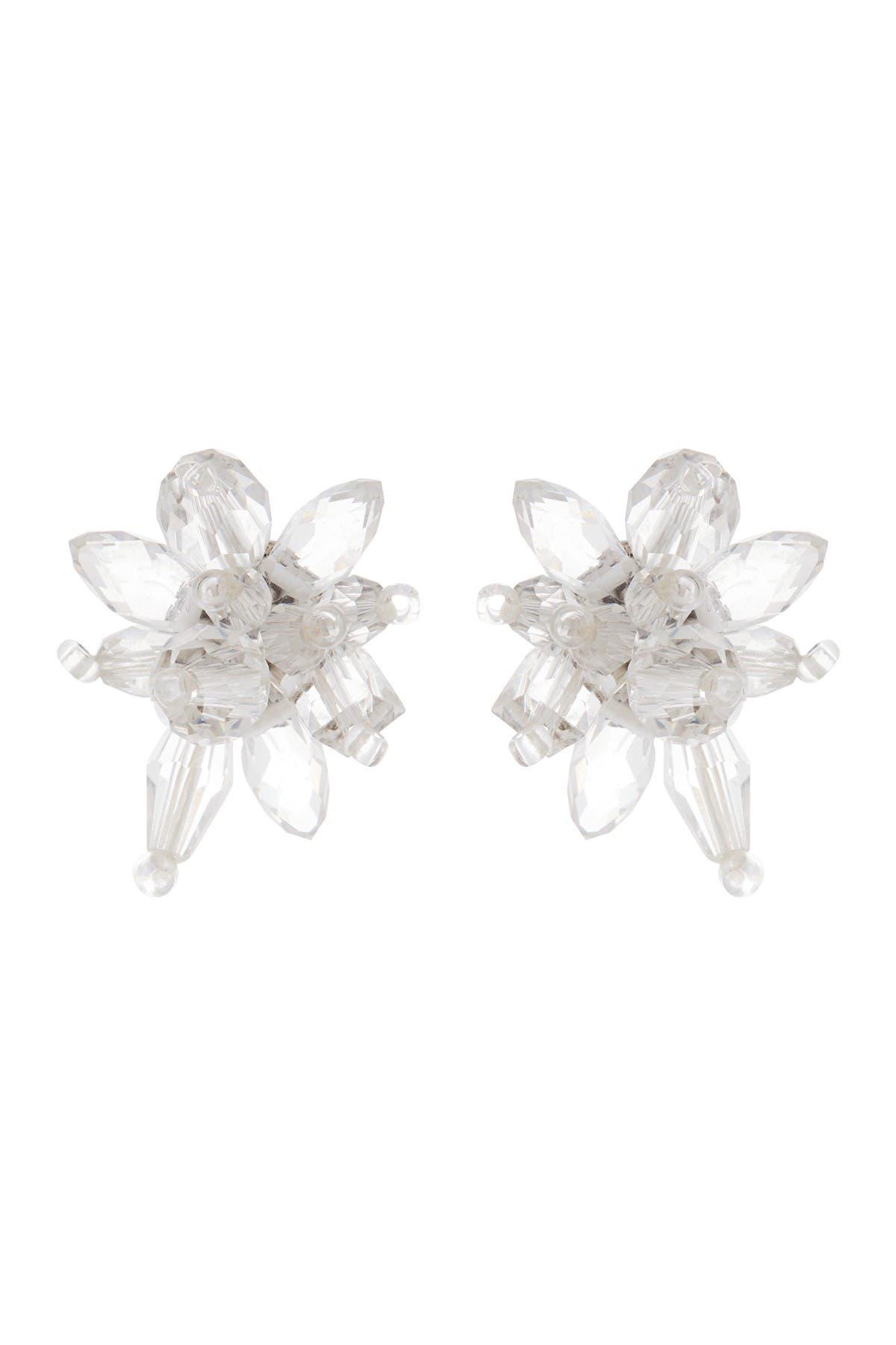 Image of kate spade new york crystal explosion stud earrings