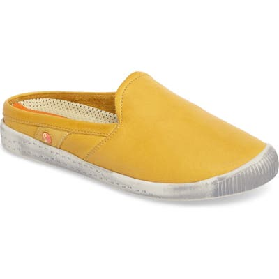Softinos By Fly London Imo Sneaker Mule - Yellow