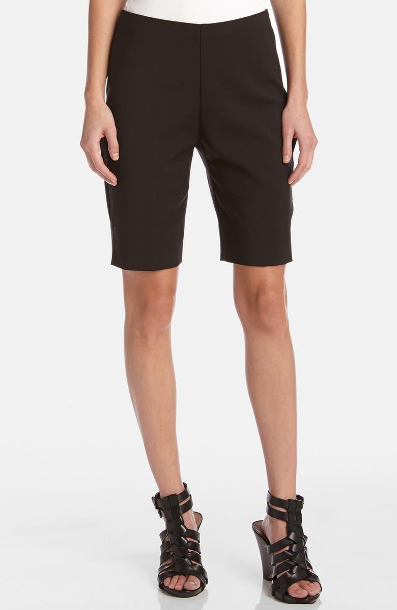 KAREN KANE Side Vent Bermuda Shorts, Main, color, 001