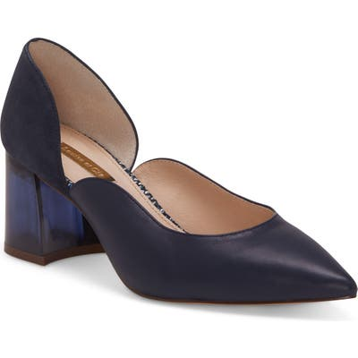 Louise Et Cie Johana Pointy Toe Pump- Blue