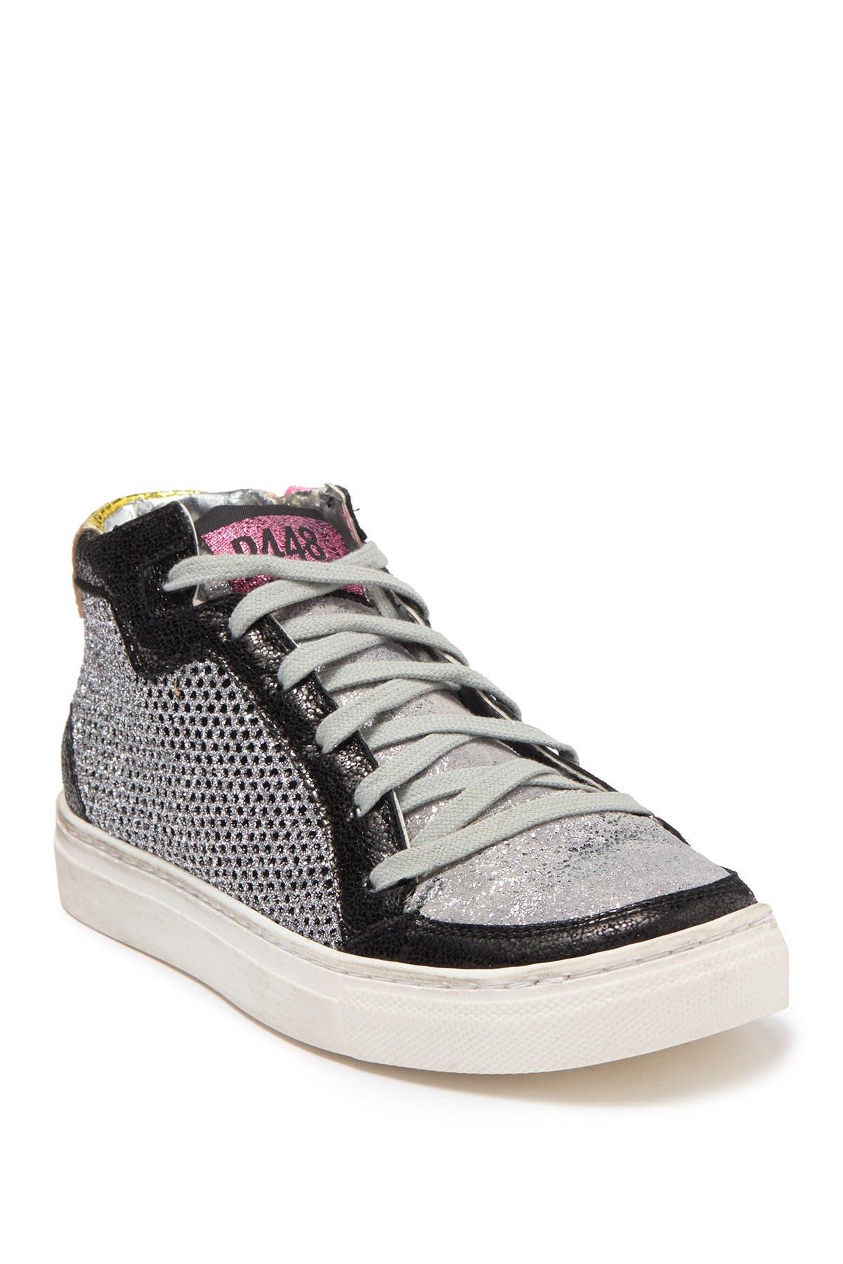 P448 | Love Jr. Metallic Sneaker