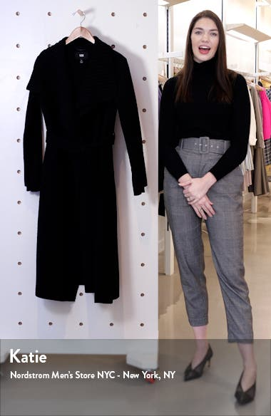 Maryn Wool Blend Wrap Coat, sales video thumbnail