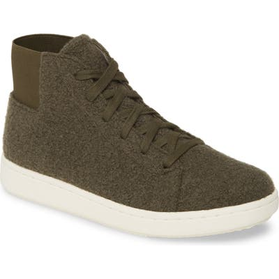 Eileen Fisher Gaze High Top Sneaker- Green