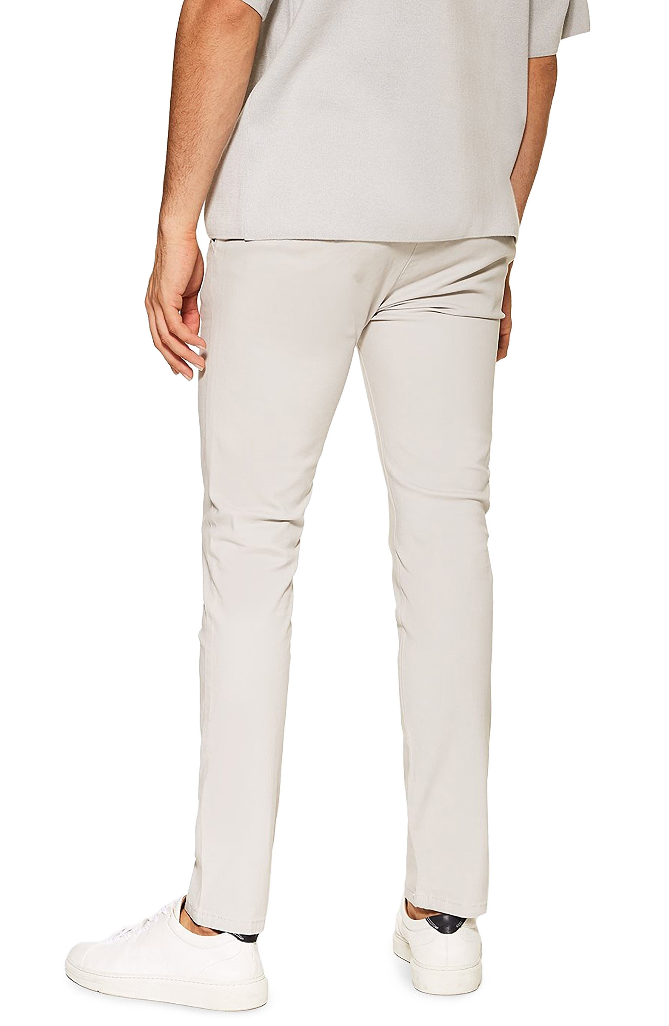 ,                             Summer Slim Fit Stretch Chinos,                             Alternate thumbnail 2, color,                             GREY