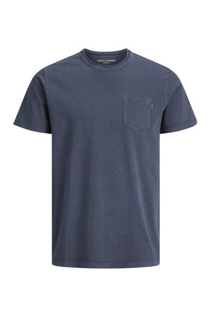 Image of JACK & JONES Crew Neck Pocket T-Shirt