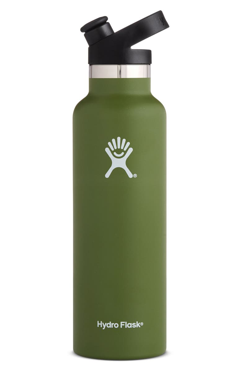HYDRO FLASK 21-Ounce Standard Mouth Bottle with Sport Cap, Main, color, 301