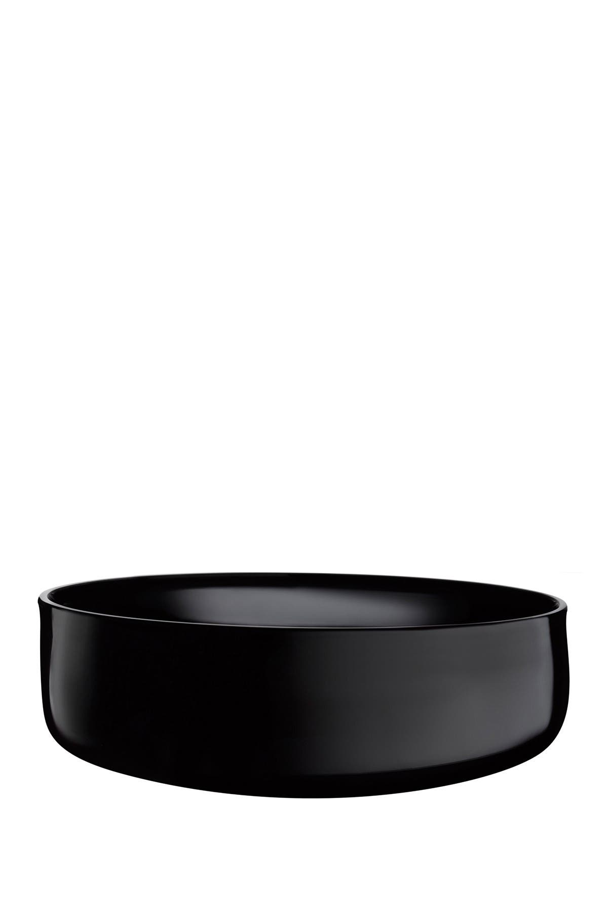 Image of Nude Glass Midnight Bowl - Large - Black