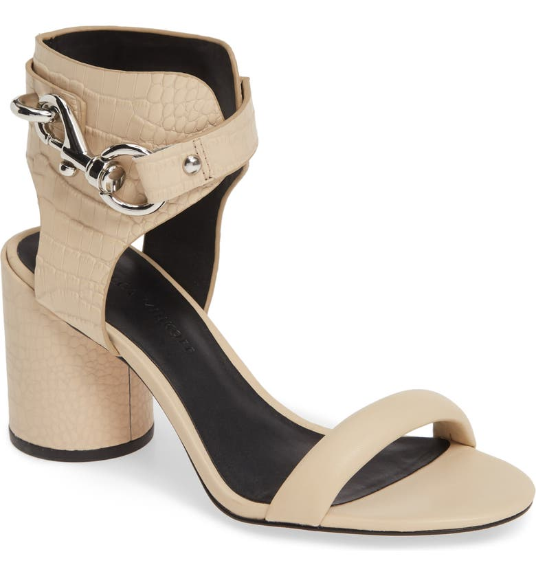 REBECCA MINKOFF Malina Ankle Strap Sandal, Main, color, CLAY LEATHER