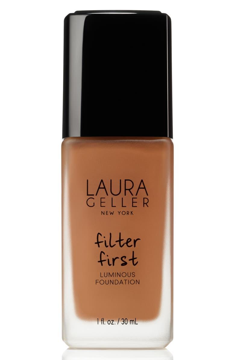 LAURA GELLER BEAUTY Filter First Luminous Foundation, Main, color, PECAN