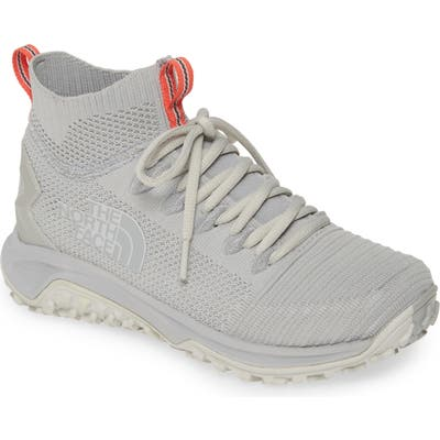 The North Face Truxel Mid Top Hiking Sneaker, Grey