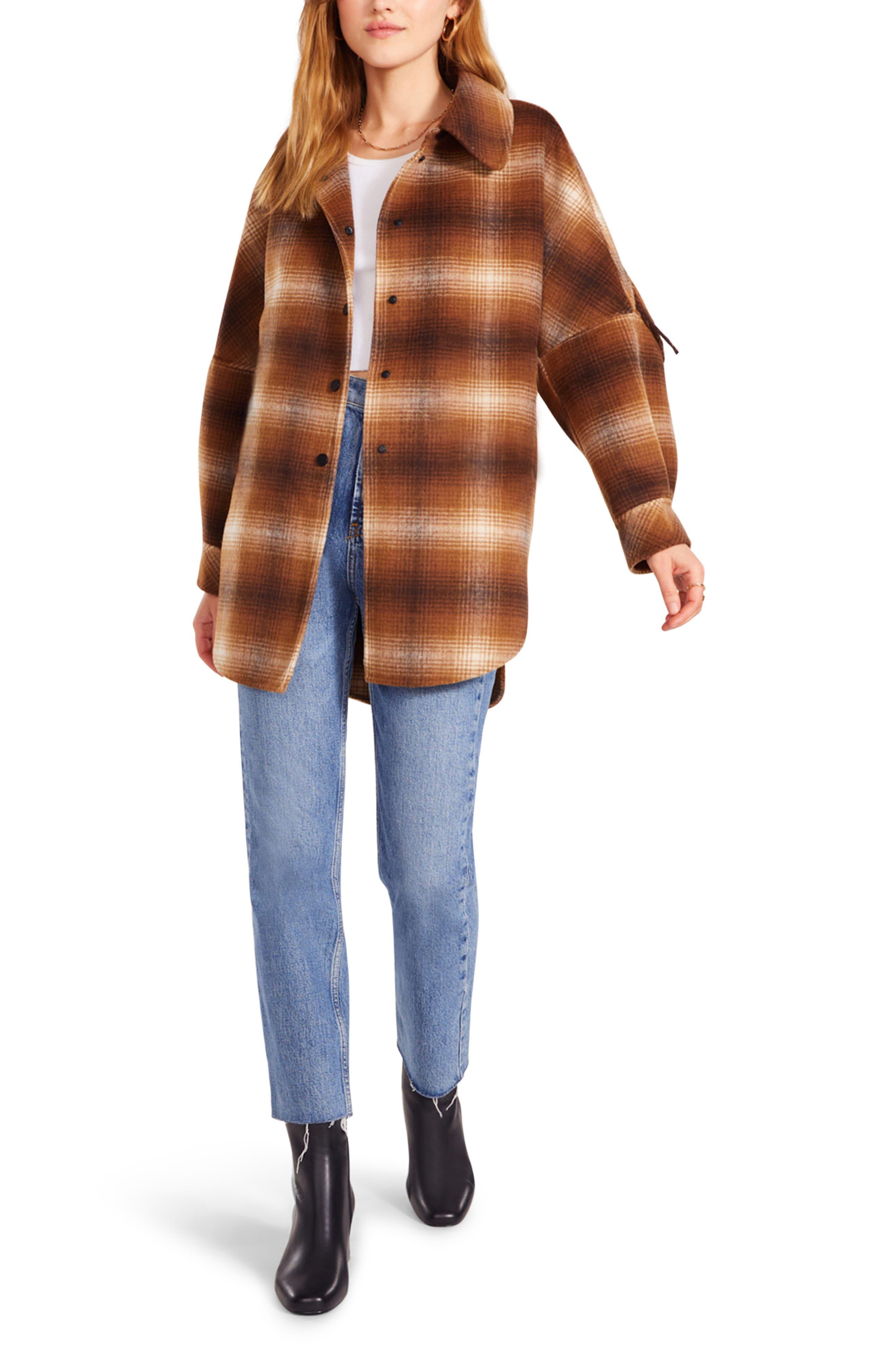 Fringe With Benegits Plaid Jacket