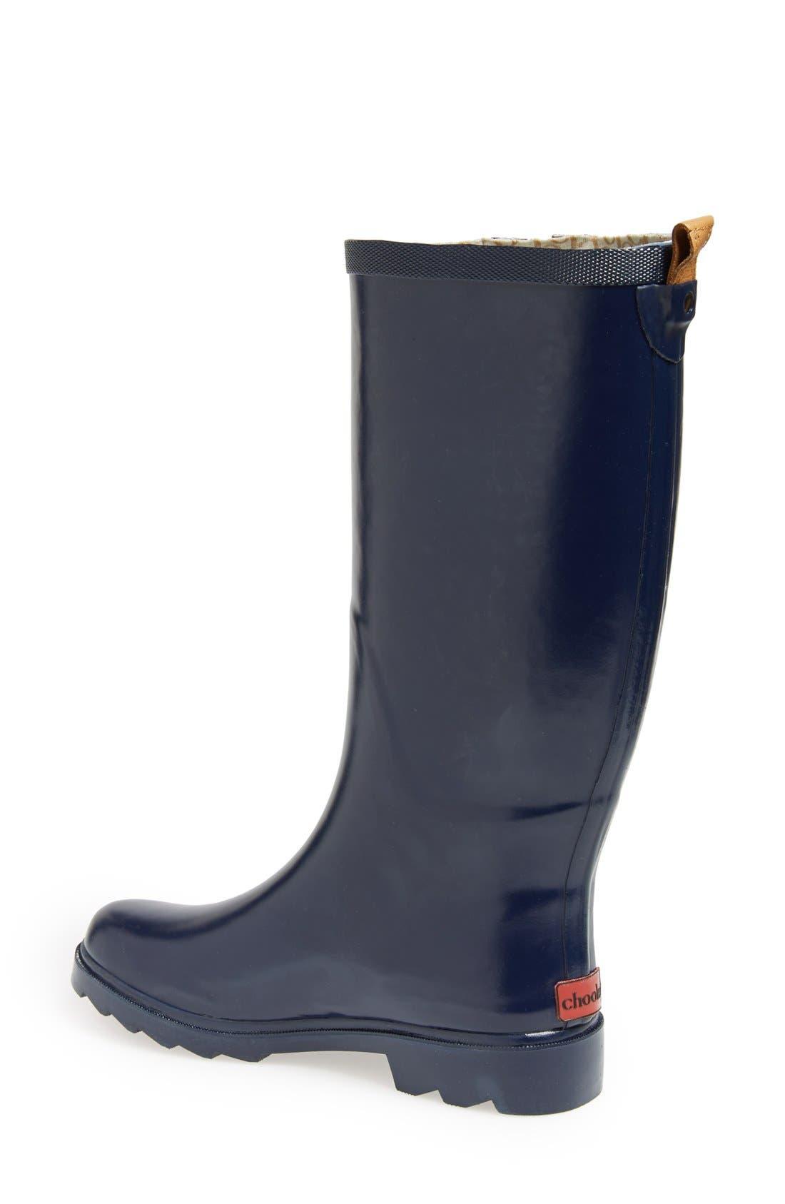 ,                             'Top Solid' Rain Boot,                             Alternate thumbnail 64, color,                             408