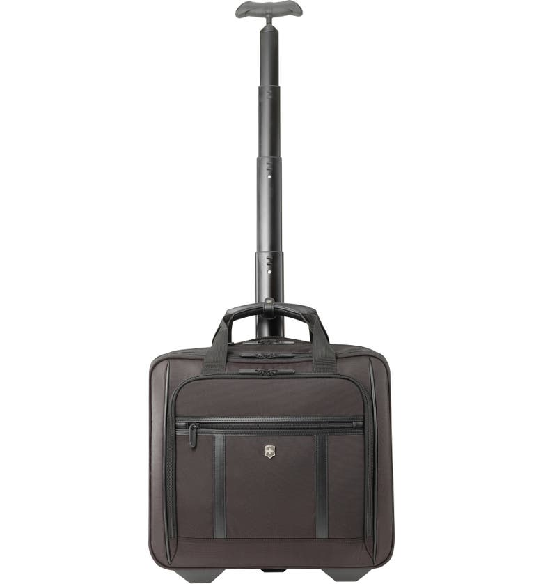 VICTORINOX SWISS ARMY<SUP>®</SUP> Werks Pro 2.0 Wheeled Briefcase, Main, color, BLACK