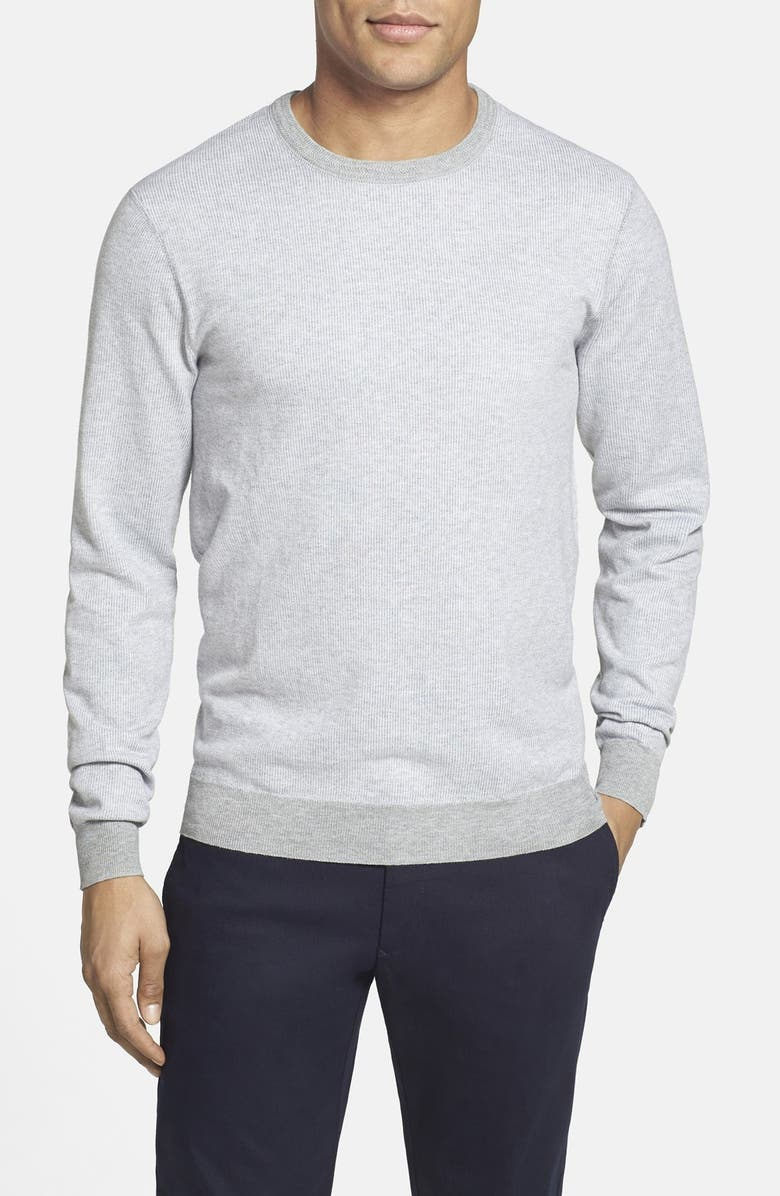 VINCE CAMUTO Cotton Crewneck Sweater, Main, color, 034