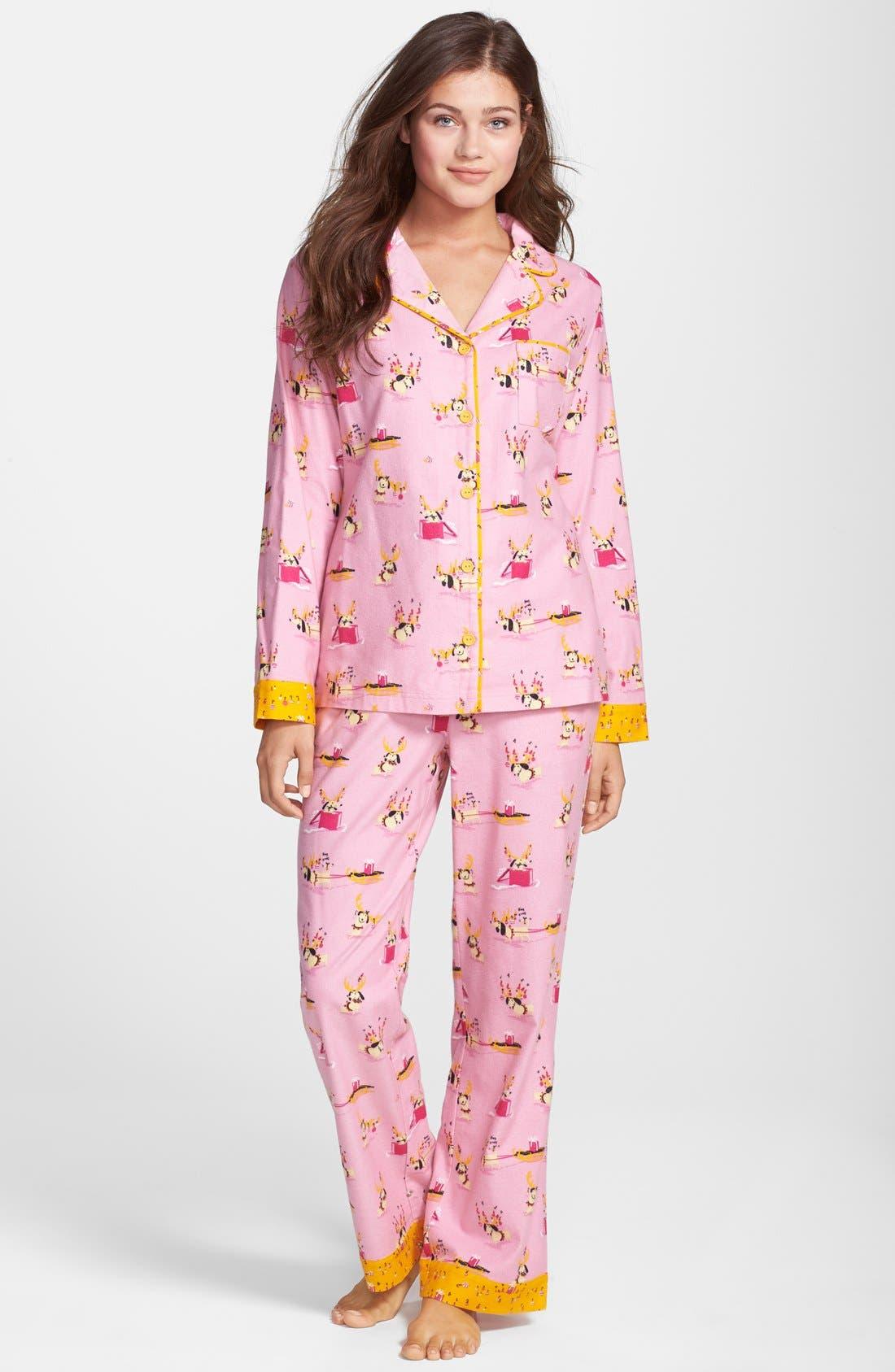 ,                             Flannel Pajamas,                             Main thumbnail 92, color,                             690