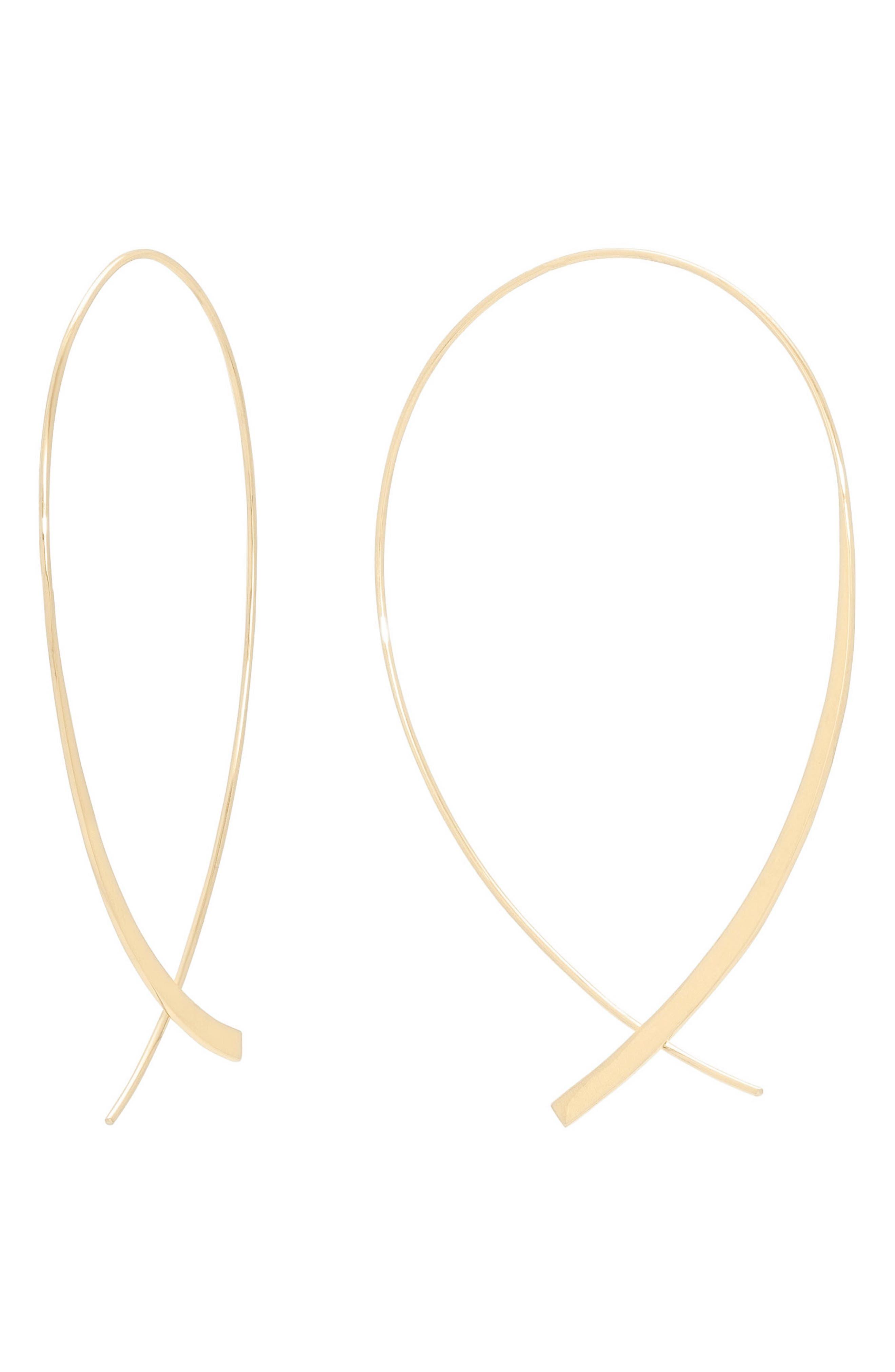 Large Graduating Hoop Earrings