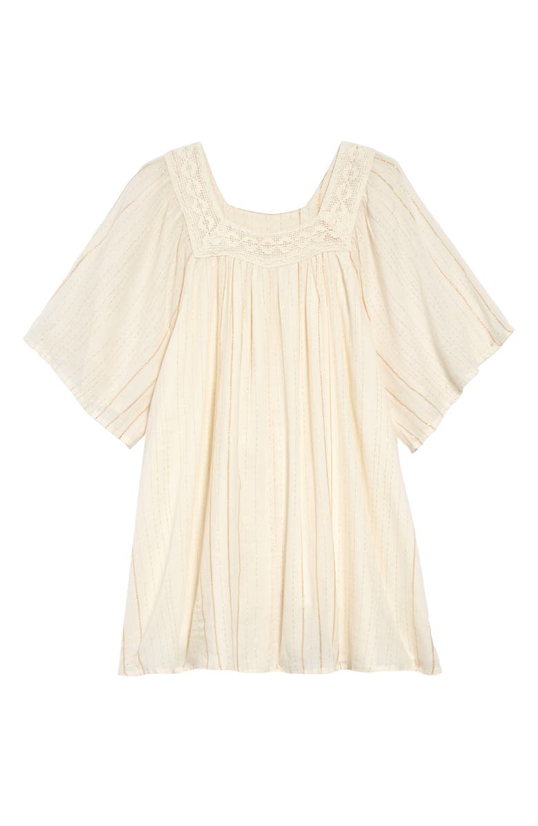 BILLABONG Feeling Sparkly Dress, Main, color, WHITE CAP