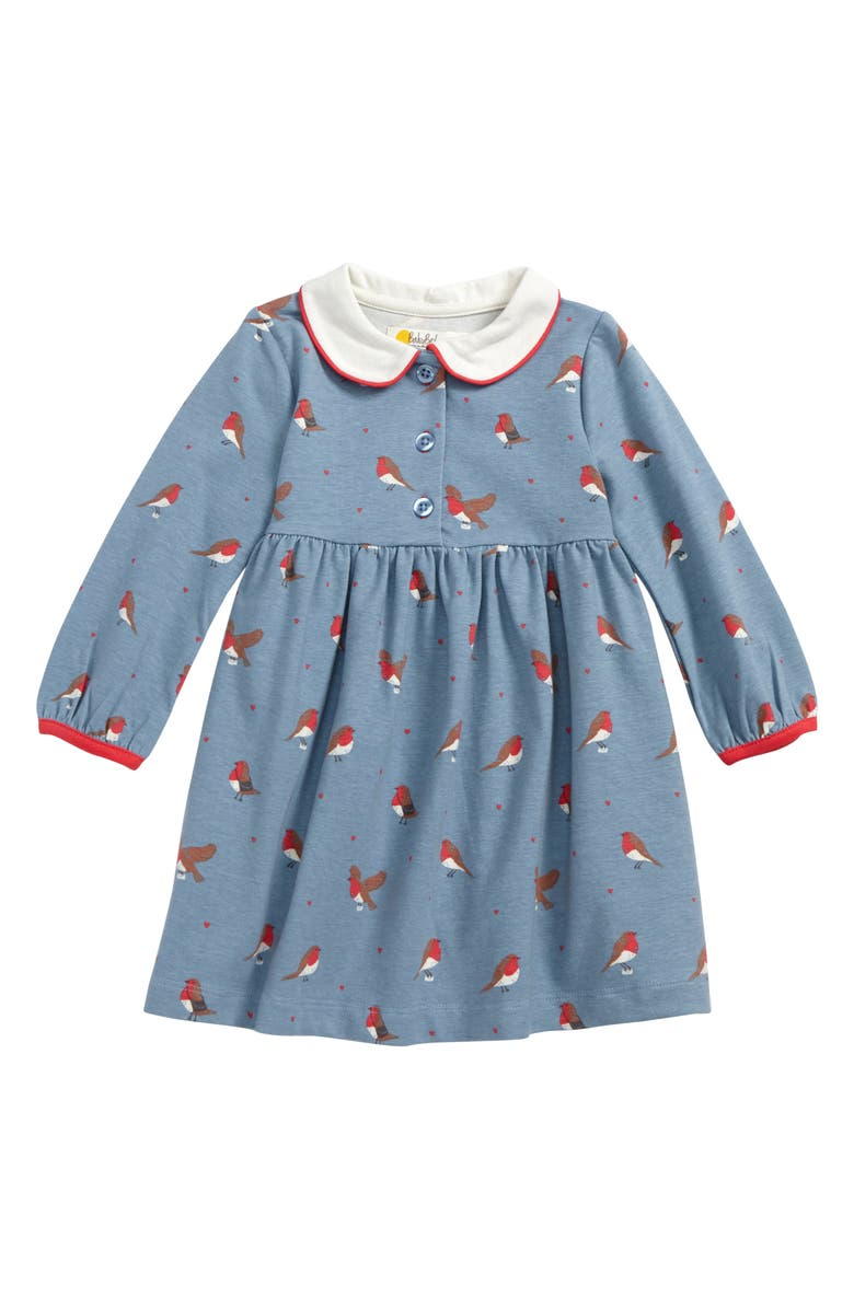 330b007319aa Mini Boden Robins Peter Pan Collar Dress (Baby Girls & Toddler Girls ...