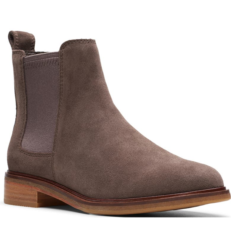 CLARKS<SUP>®</SUP> Clarkdale Arlo Boot, Main, color, TAUPE SUEDE