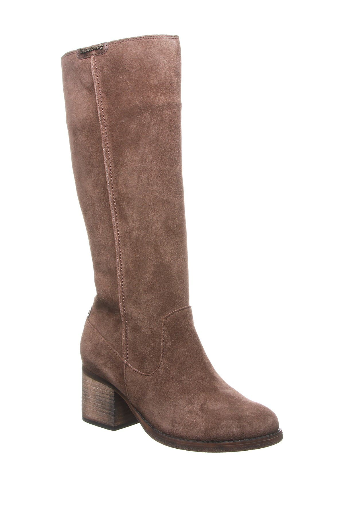 BEARPAW | Anthracite Suede Knee-High