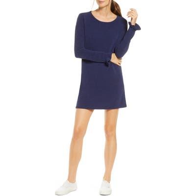 Lilly Pulitzer Galen Long Sleeve Sweater Dress, Blue