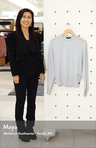 Blouson Sleeve Wool Blend Pullover, sales video thumbnail