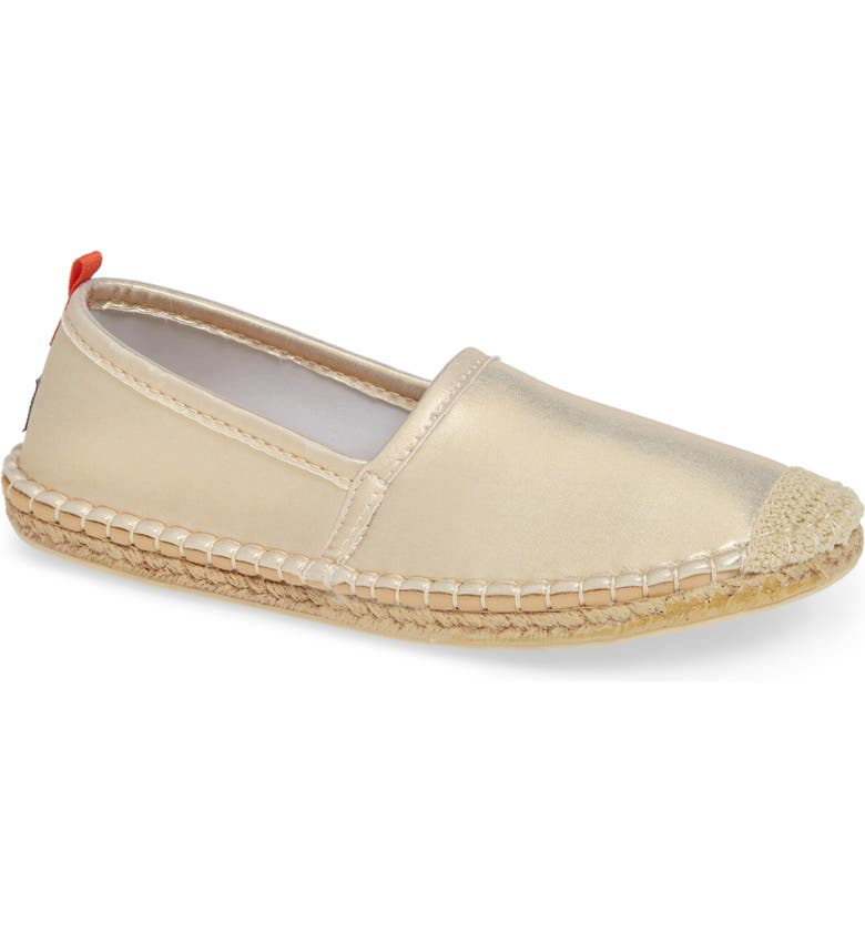 SEA STAR BEACHWEAR Beachcomber Espadrille Water Shoe, Main, color, WHITE GOLD