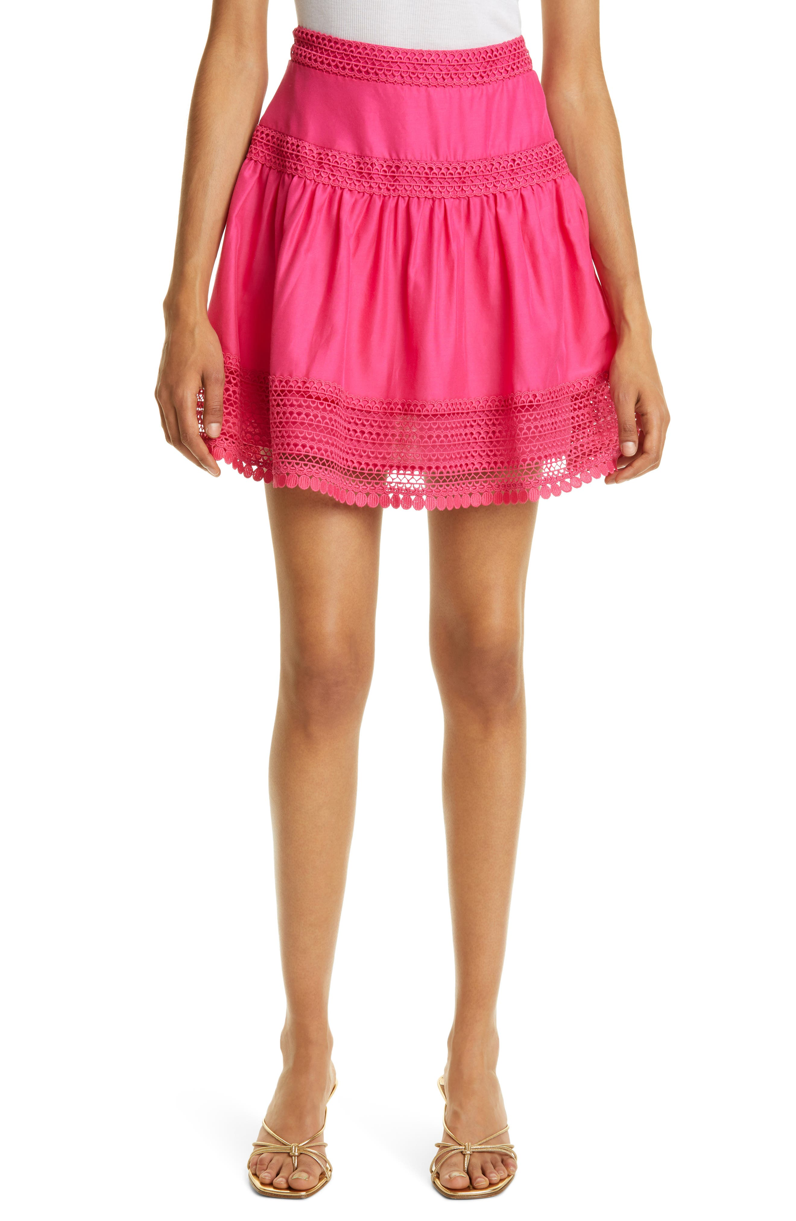 Woven Miniskirt