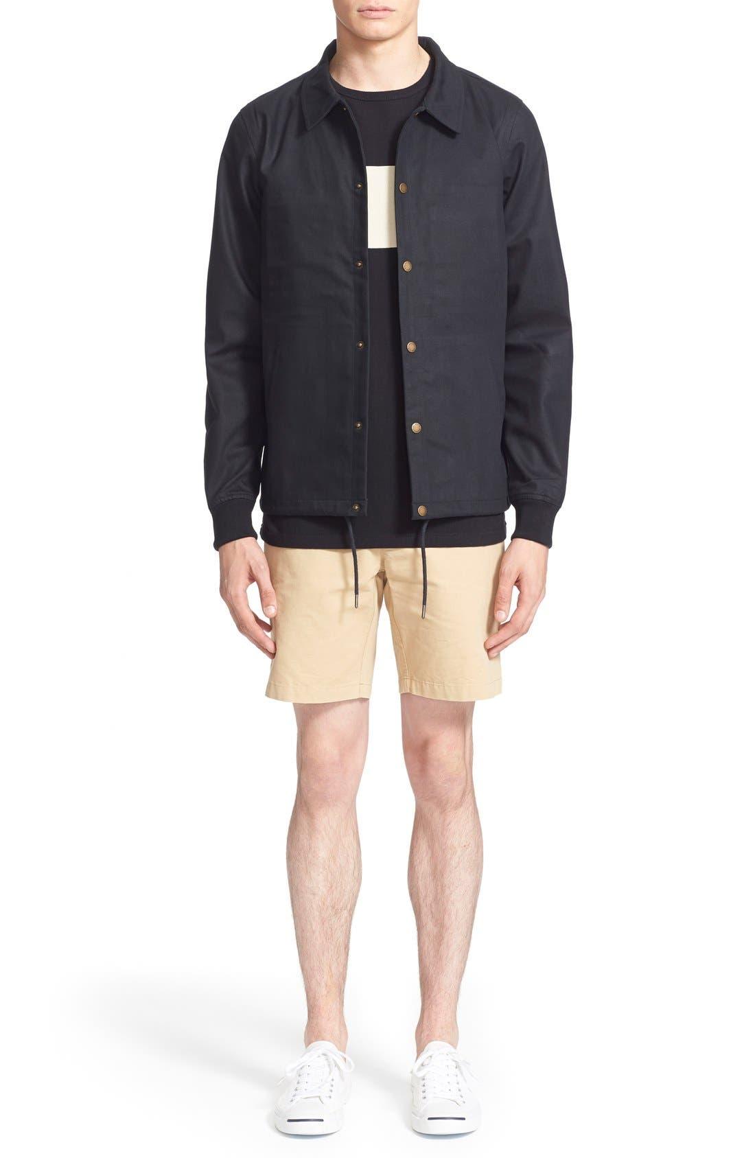 ,                             'Cooper' Bonded Cotton Poplin Jacket,                             Alternate thumbnail 6, color,                             001