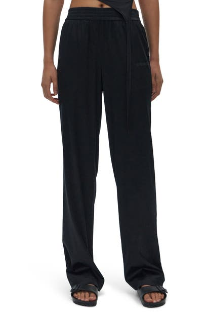 Helmut Lang STRETCH SILK PANTS