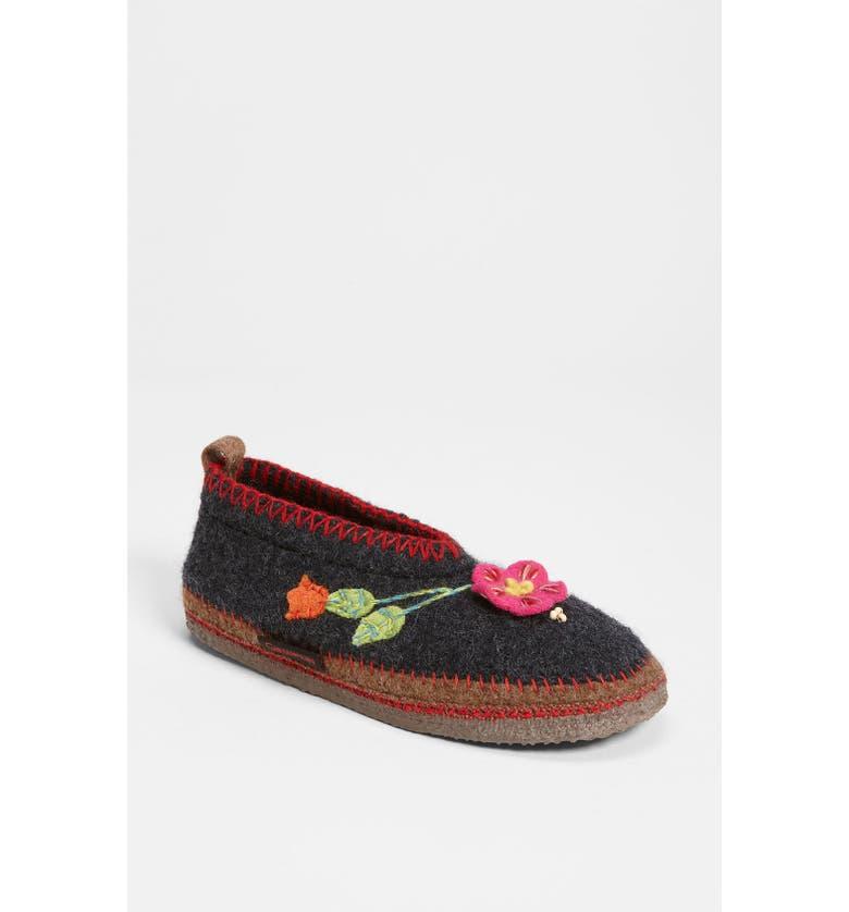 GIESSWEIN 'Spital Flower' Slipper, Main, color, 020