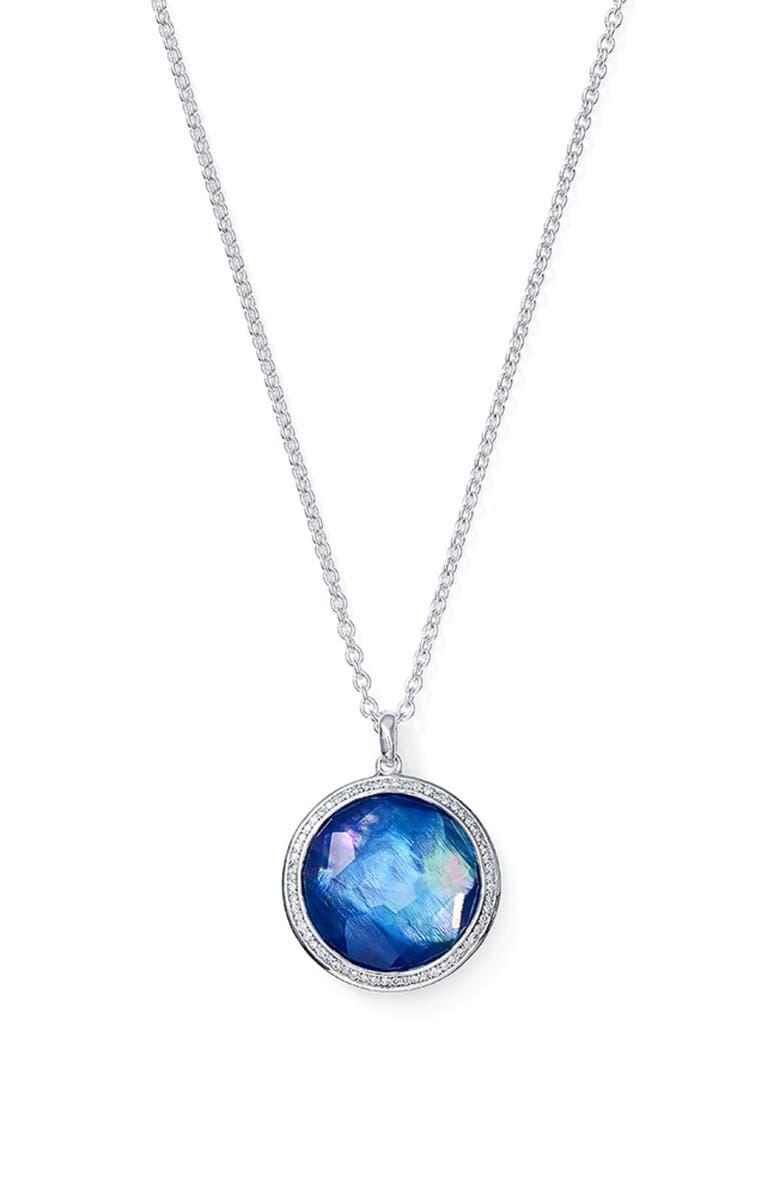IPPOLITA 'Stella' Pendant Necklace, Main, color, 045